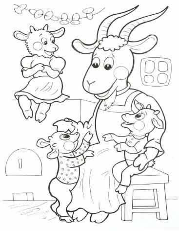 Картинки по запросу раскраски сказки для малышей ...