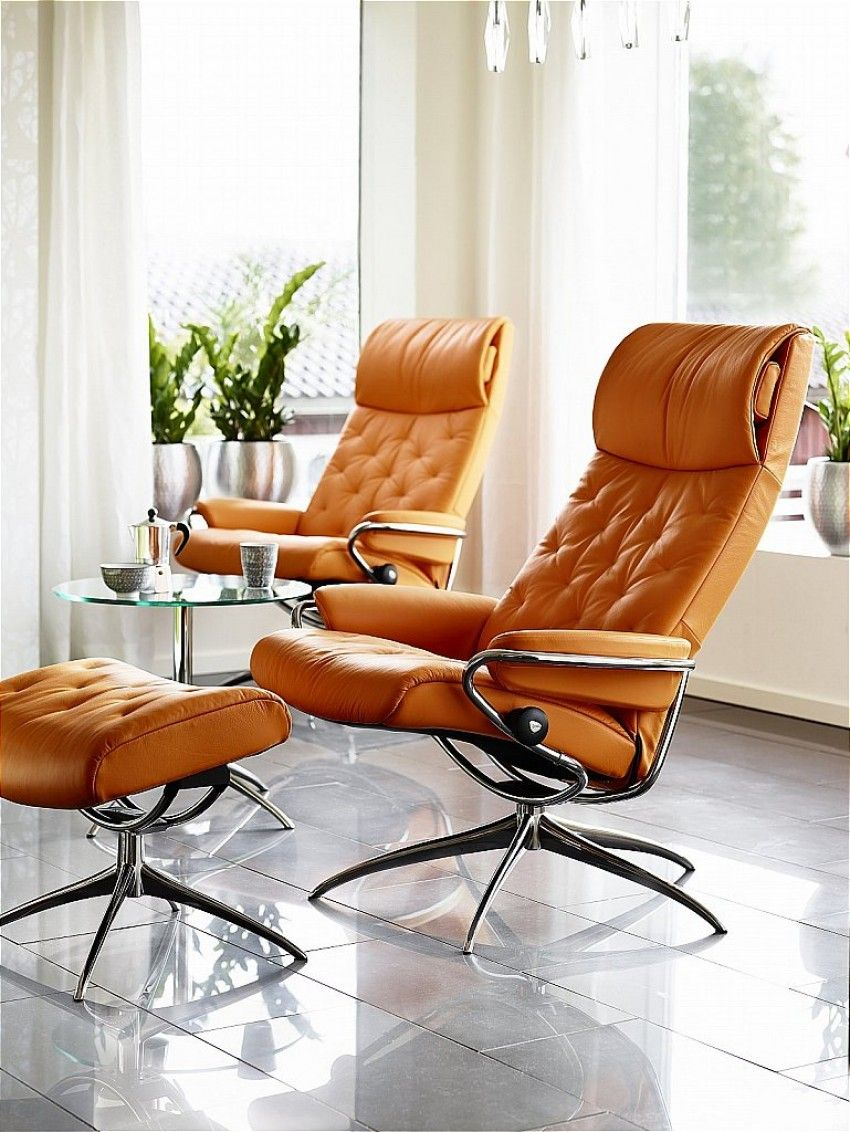 Stressless Sessel Norwegen Go For A Bright Coloured Leather To Brighten Up A Room Like