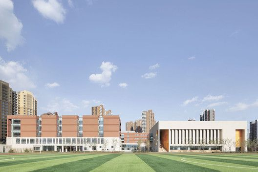 School with an Open Space / Beijing Institute of Architectural Design 6th Division
