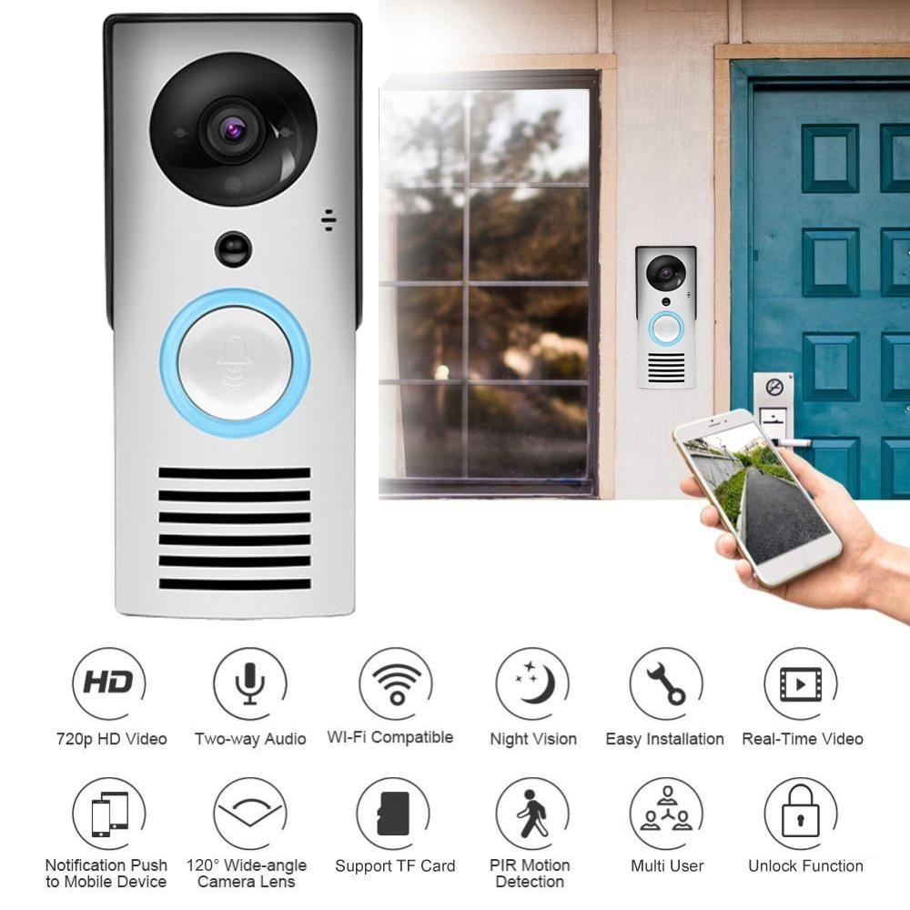Nest Hello Doorbell Alert Wired 2-Way Intercom Camera WiFi Push Button