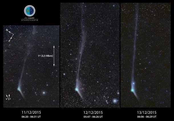 Cómo ver a Catalina, el cometa que se acercará a la Tierra esta semana
