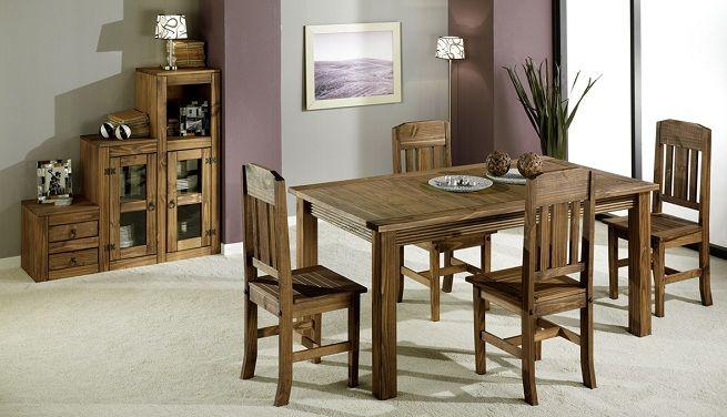 medidas de una mesa de comedor para 6 personas - Buscar con Google ...