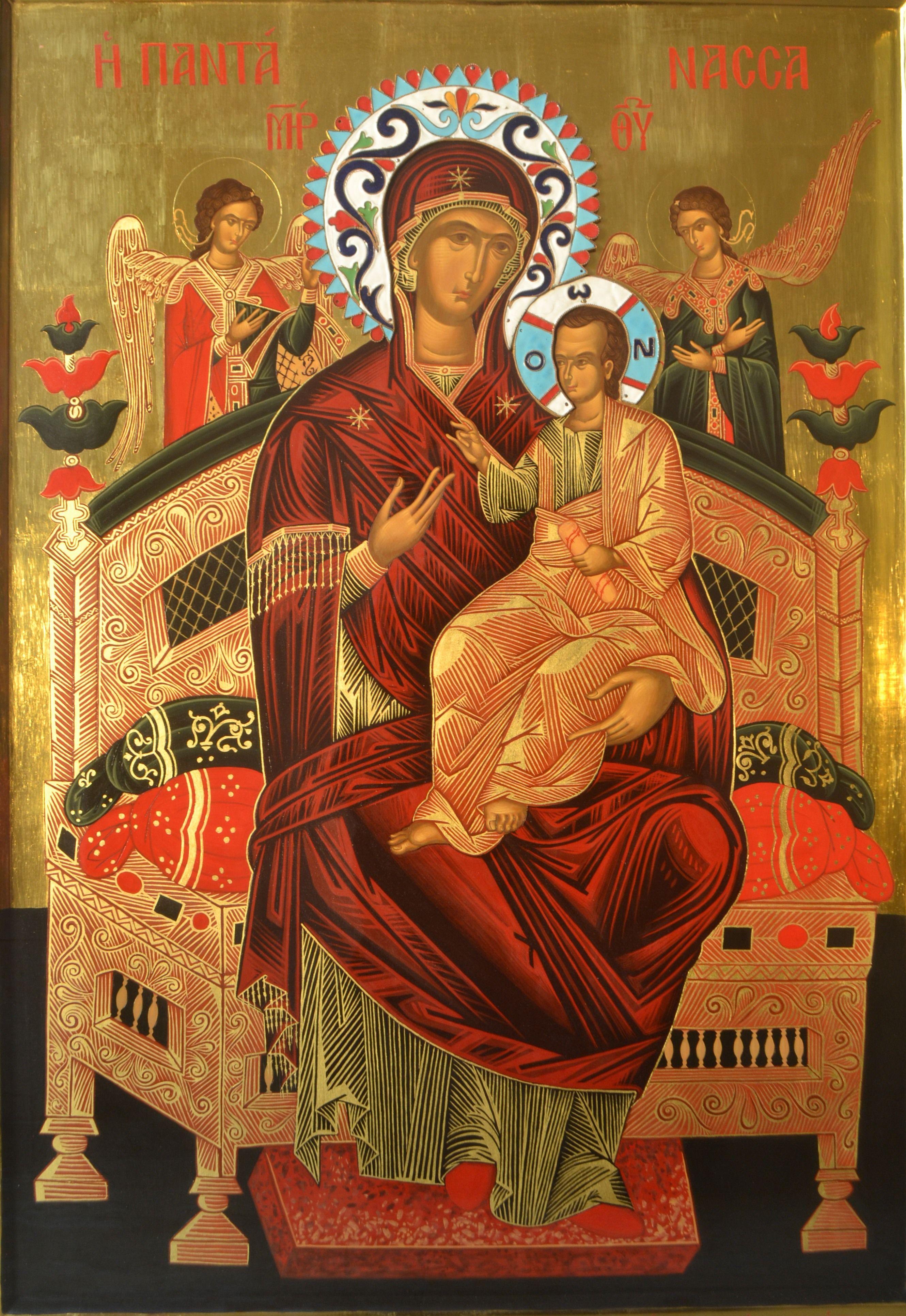 Healing Prayer. Vsetsaritsa (Pantaness) - icon of the Blessed Virgin Mary 97