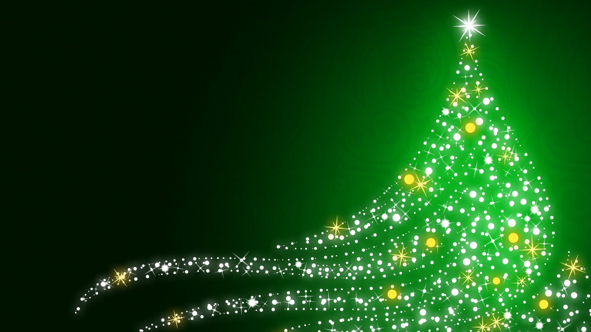 Sparkling Christmas Tree Hdpicorner Christmas Images Wallpaper Christmas Wallpaper Hd Christmas Desktop Wallpaper