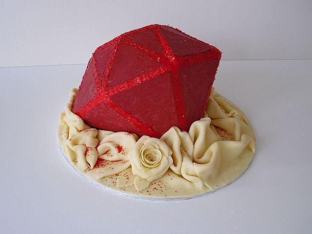 популярность, торт в виде рубина фото кто его знает