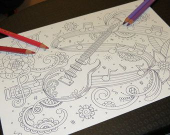 Adult Colouring Page Paisley Lion by LollipopLettersCuts on Etsy