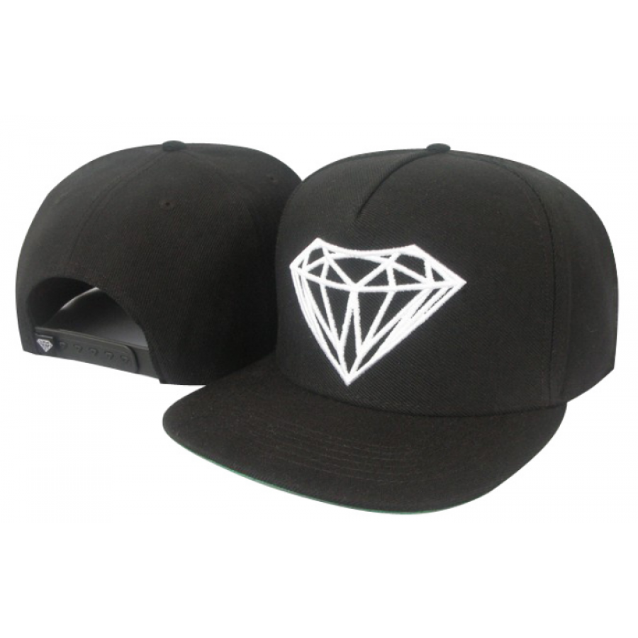 ec99f6d7e Diamond Supply Big Rock Snapback Hat (Black) | Accessorize | Diamond ...