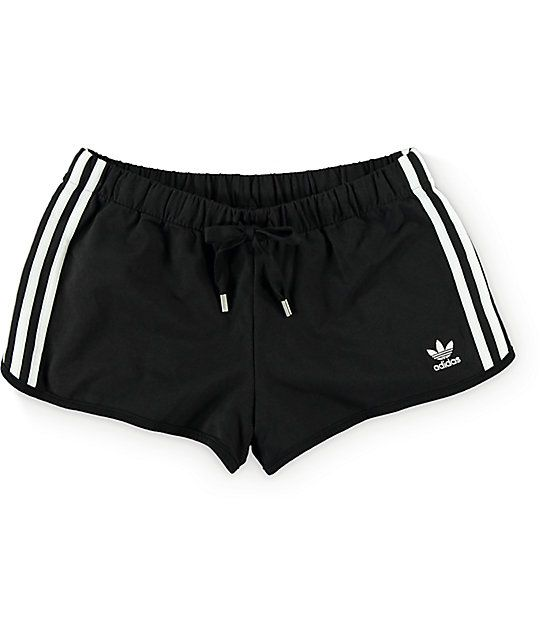 adidas Slim Black Shorts  ee093258bae
