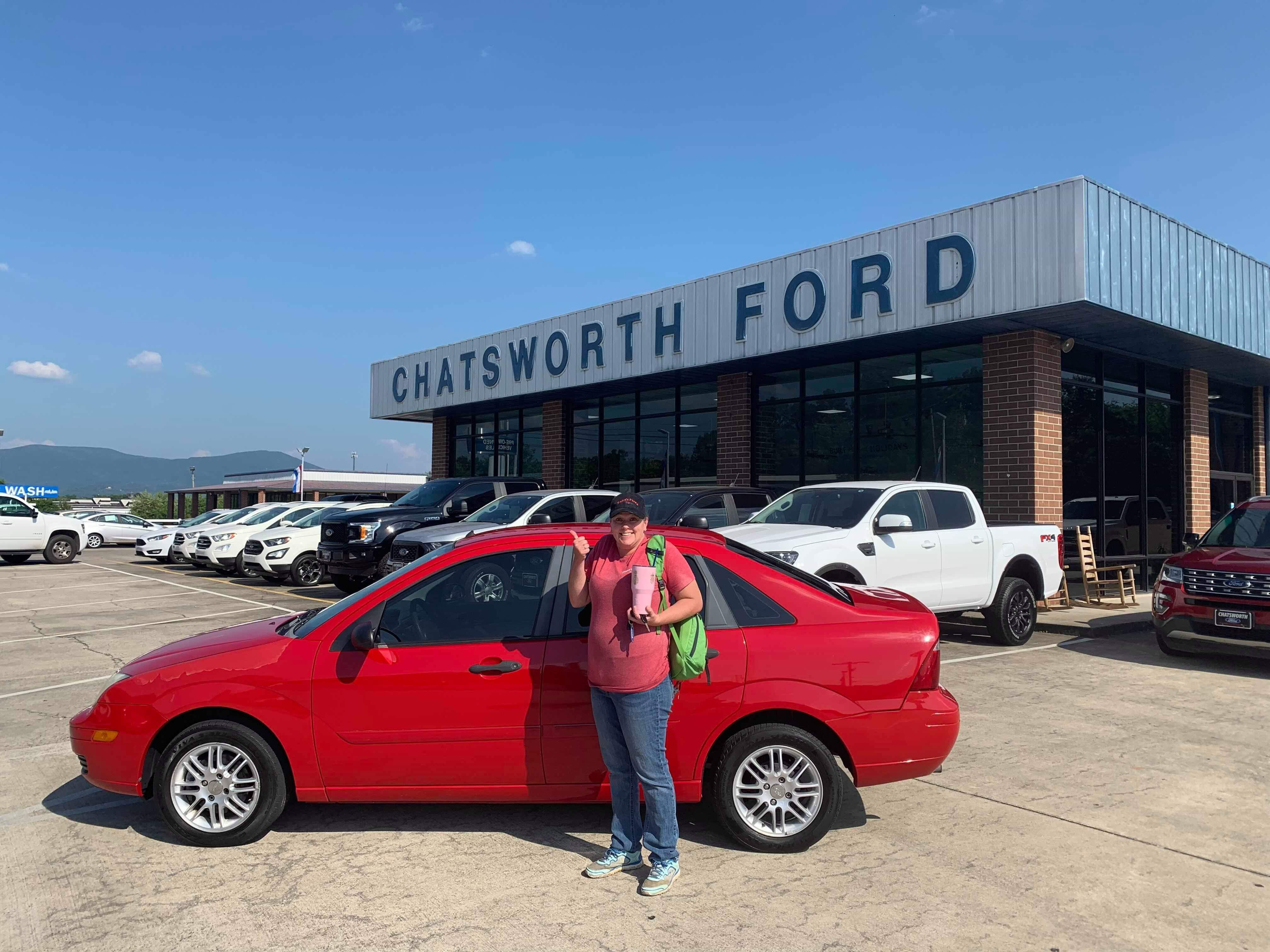 congratulations bree ross of chatsworth ga on your new 2007 focus sold by dustin patrick we appreciate your business car ford ford news chatsworth pinterest