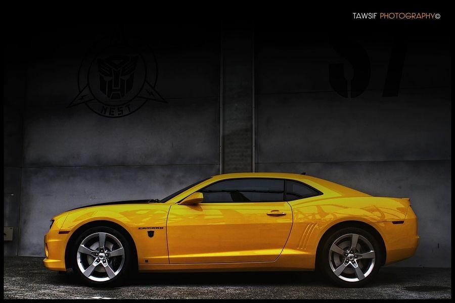 Camero trasnformer model car by tawsif alam khan via