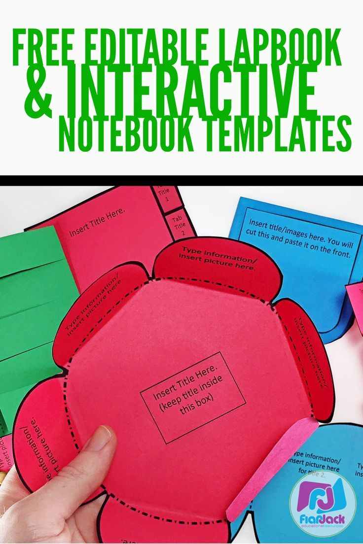 Teachers Could You Use Some FREE Lapbookinteractive Notebook - Interactive notebook templates