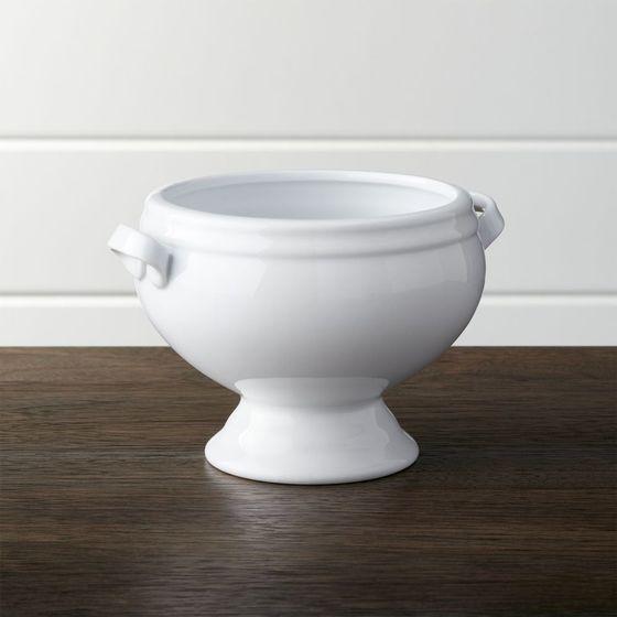 Bowl con Pedestal Clásico para Sopa - cratebarrelpe