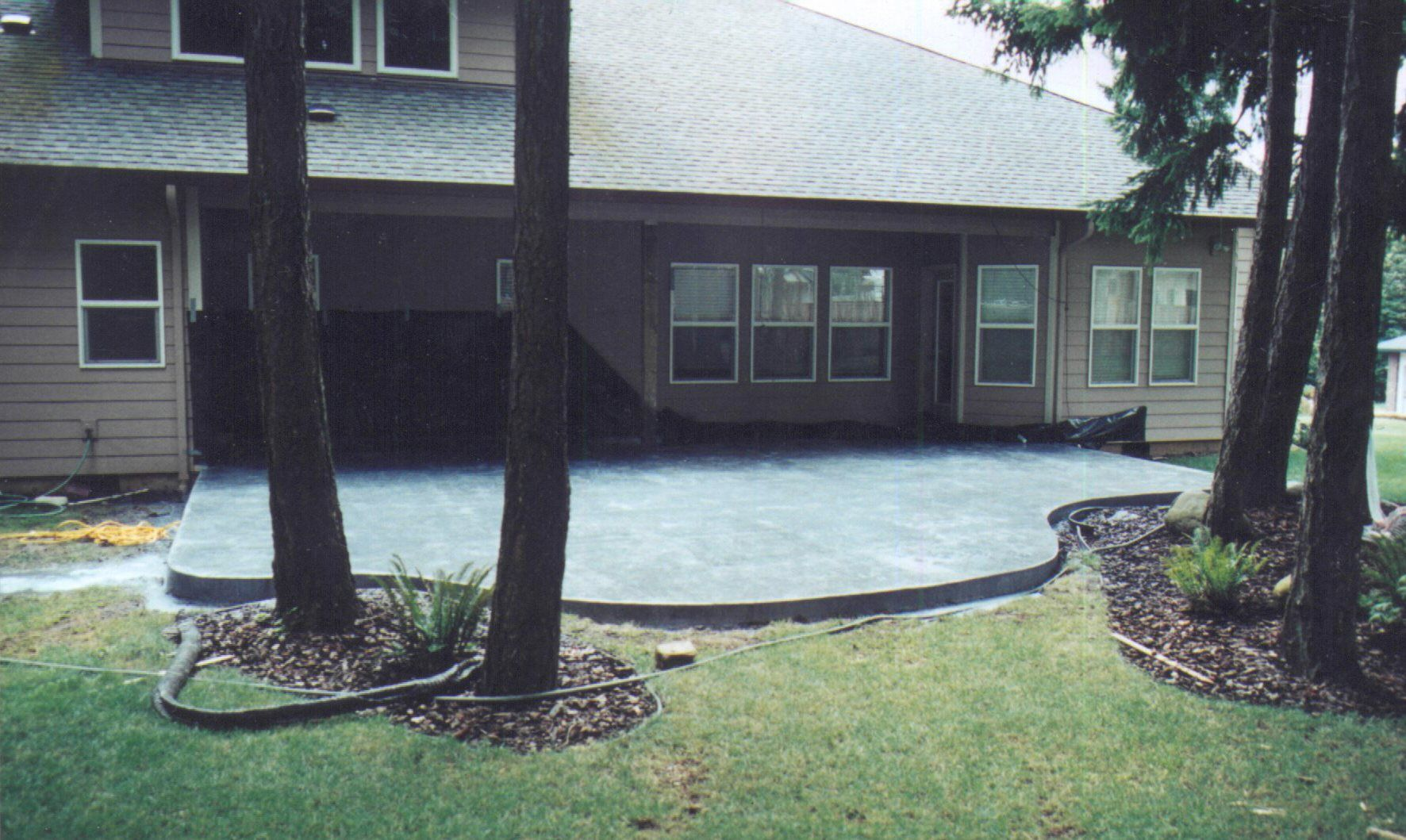 Image Detail For Patio Slab Ideas Concrete Slab Patio Ideas