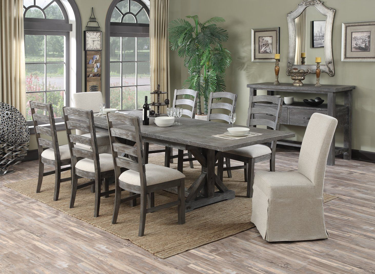 Mooresville 84 112 Erfly Leaf Extension Dining Table