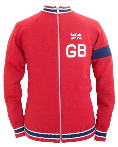Old school cycling  Great Britain team track top by Magliamo ... fdefab4f8
