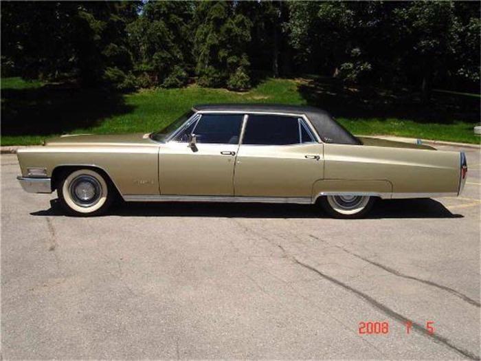 1968 Cadillac Fleetwood Brougham   Cadillac: 1968 - 1970   Cadillac