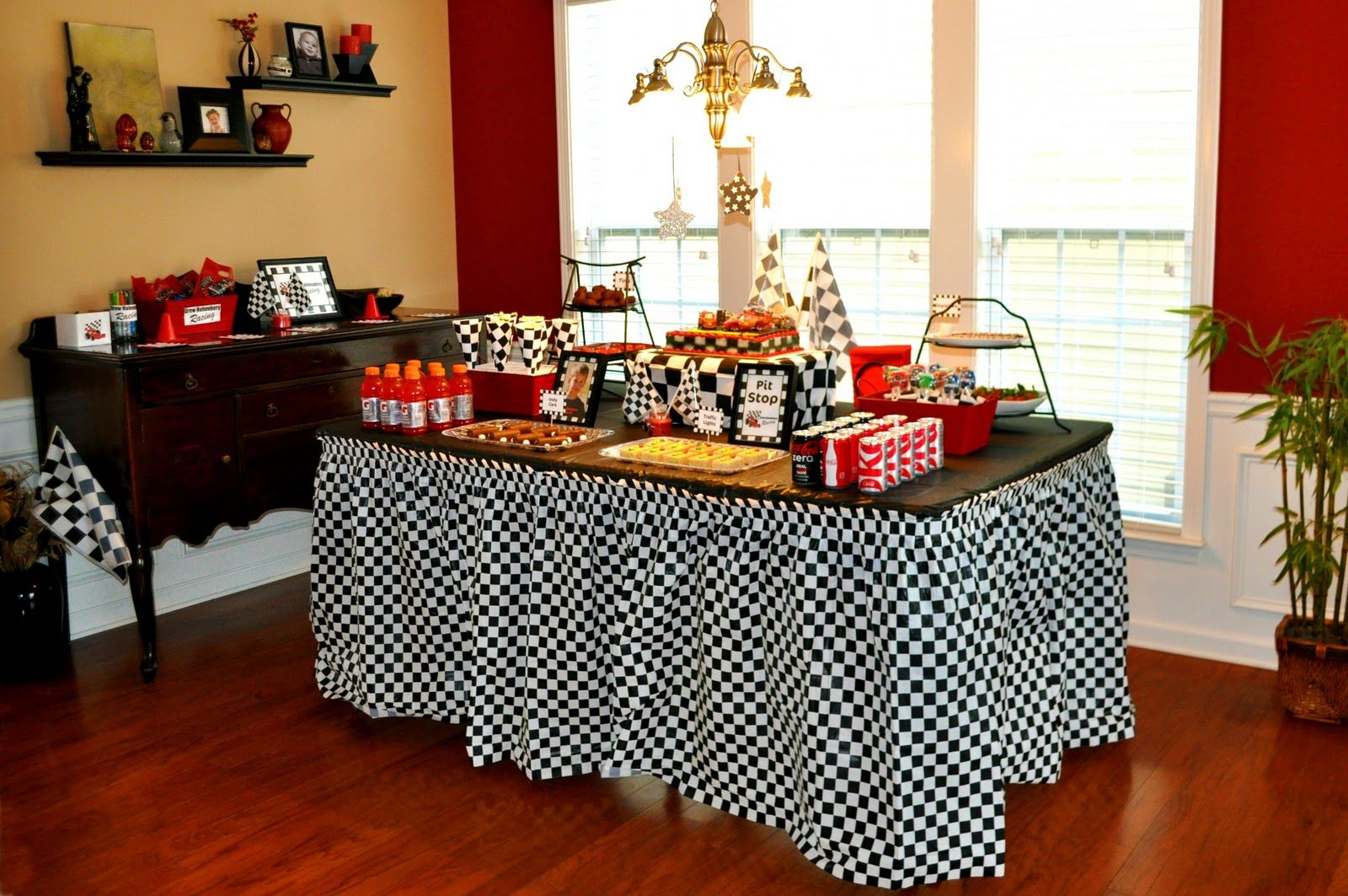 Candy Bar For Racing Party Party Room Her Racing Inspired