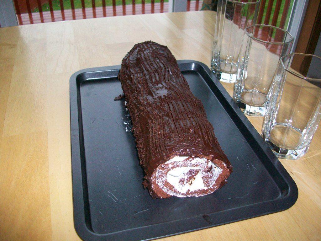 Cake mix doctor yule log recipe