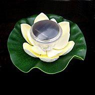 Cambio del color de Floating Lotus Flower Garden Solar piscina nocturn... – USD $ 22.99
