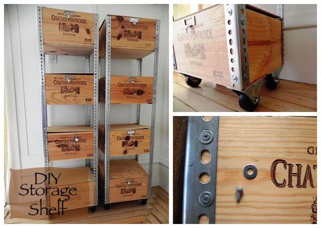 21 Amazing Shelf Rack Ideas For Your Home: 7 Amazing DIY Industrial Shelving