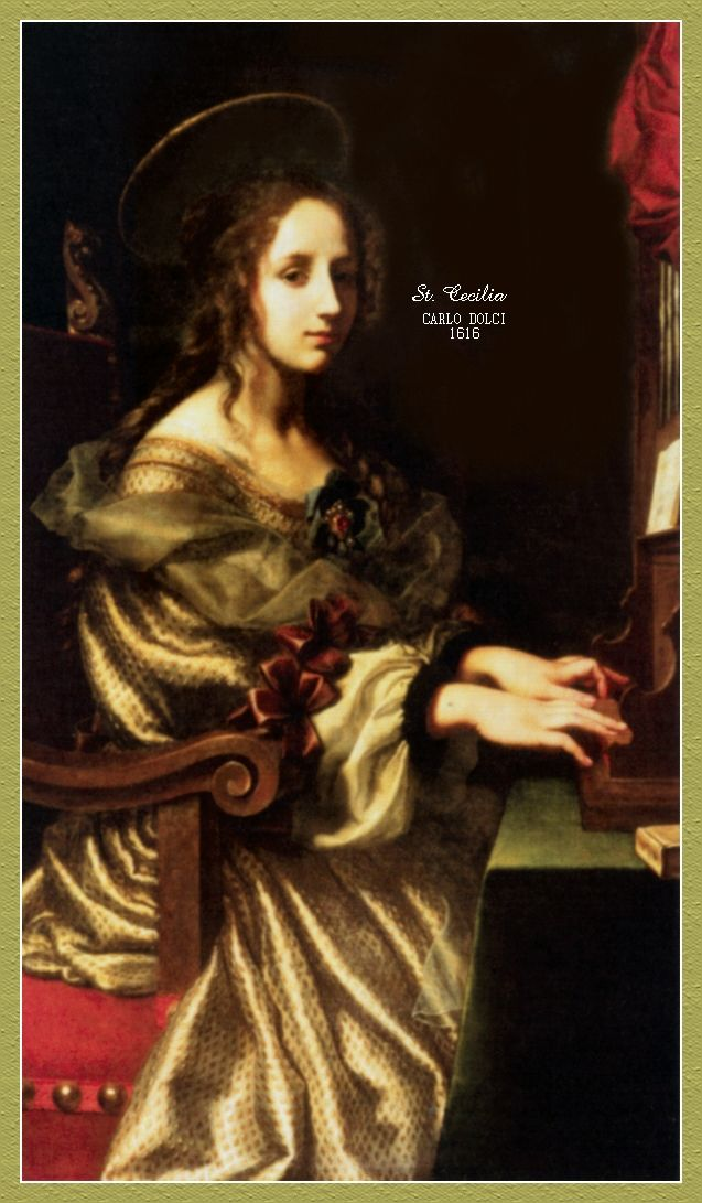 st cecilia - Google Search | Sainted Ladies | Pinterest
