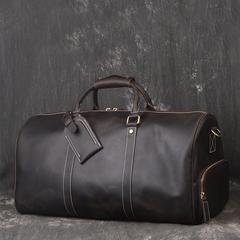 Vintage Full Grain Leather Travel Bag d40d0933b8967