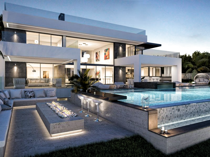 Modern Villas Luxury Homes In Marbella Madrid Portfolio Luxury Homes Dream Houses Luxury Modern Homes Modern Architecture House