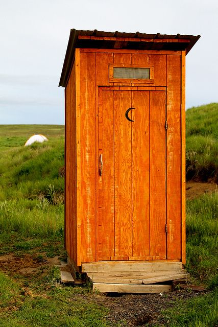 We need this at our riverplace Outhouse @ Zumwalt Prairie Preserve & Zumwalt - 19