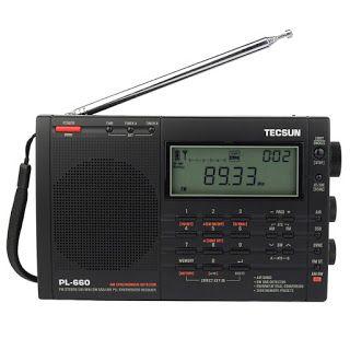 Tecsun Pl 660 Radio Pll Ssb Vhf Air Band Radio Receiver Fm Mw Sw