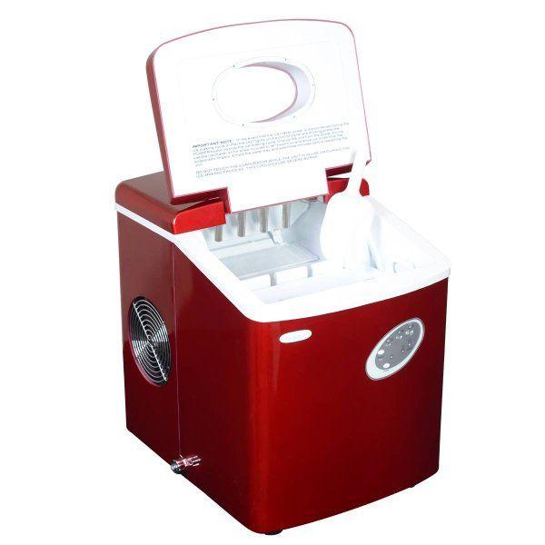 Newair Ai 100r 28 Pound Portable Icemaker Red Amazon Appliances