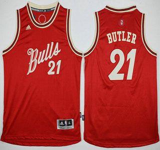 4d057e7219c ... Youth Chicago Bulls Jersey 21 Jimmy Butler Revolution 30 Swingman 2015  Christmas Day Red Jerseys ...