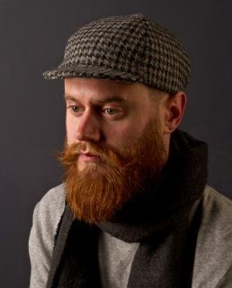 Authentic Harris Tweed Cycling Cap DOGTOOTH SummaryGREY DOGTOOTH 100%  Authentic Harris Tweed cycling cap. 0e287729bcc