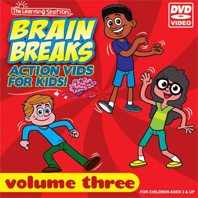 Brain Breaks Action Vids For Kids / Volume Three