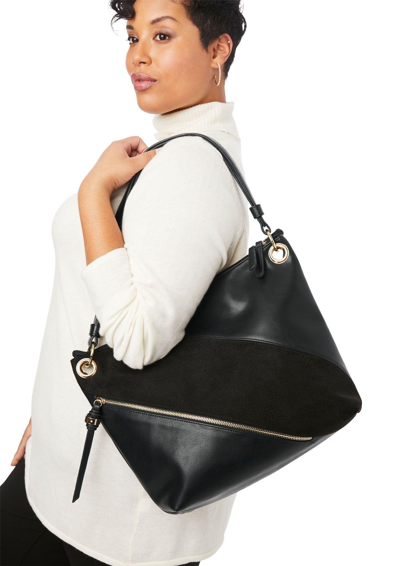 Buy cheap jessica london womens zip hobo shoulder bag