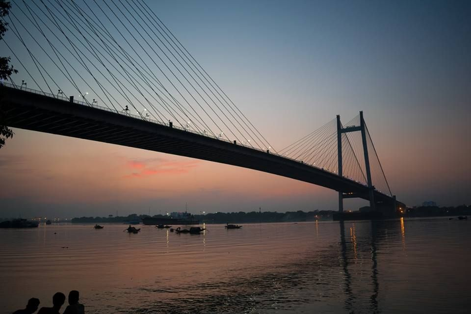 Image result for hooghly bridge