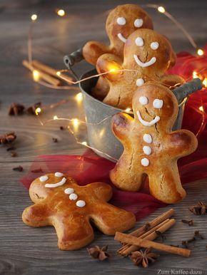 Fast zu süß oder Lebkuchenmännchen mit Honig - Zum Kaffee dazu