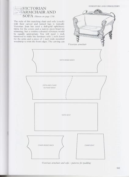 Free Chair Template Barbie Furniture Pinterest