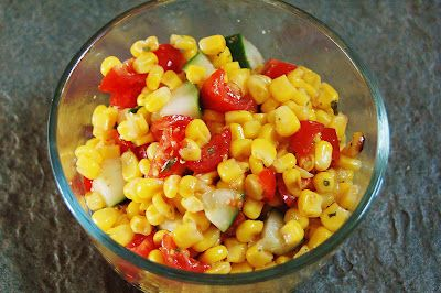 Natural Health and Prevention: Whole Foods Friday - Sweet Roasted Corn Salad