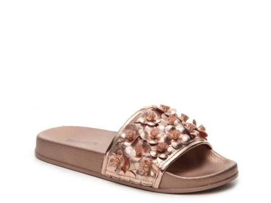 5463866d931424 Women s Women Seema Slide Sandal -Rose Gold Metallic - Rose Gold Metallic