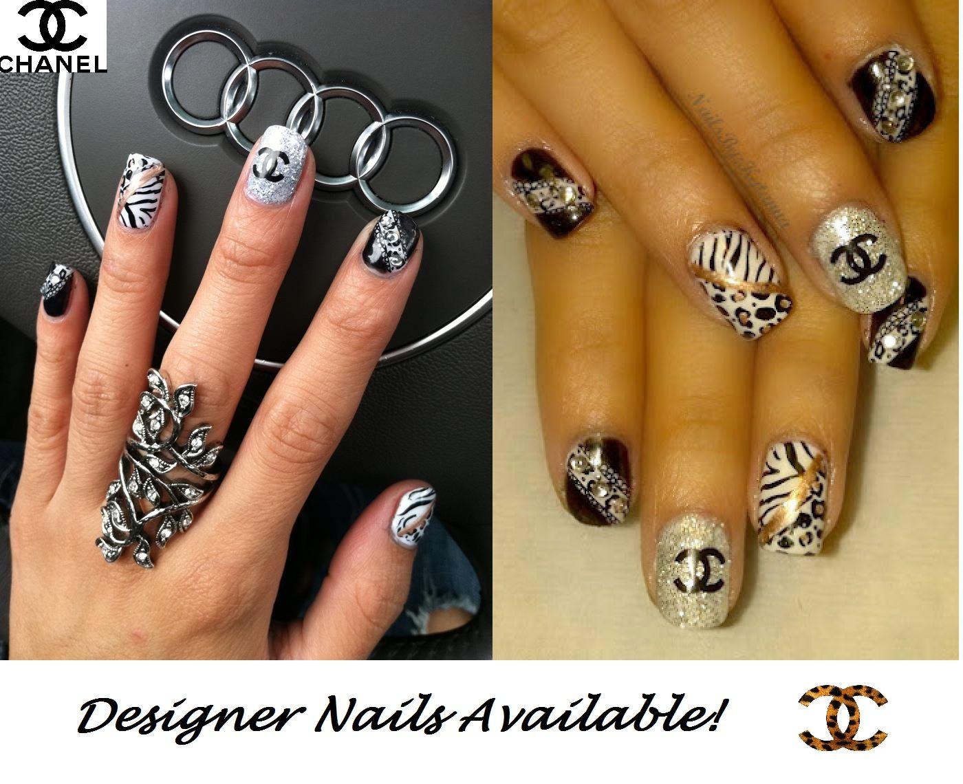 Designer nails | Beauty/Fitness Junkie | Pinterest