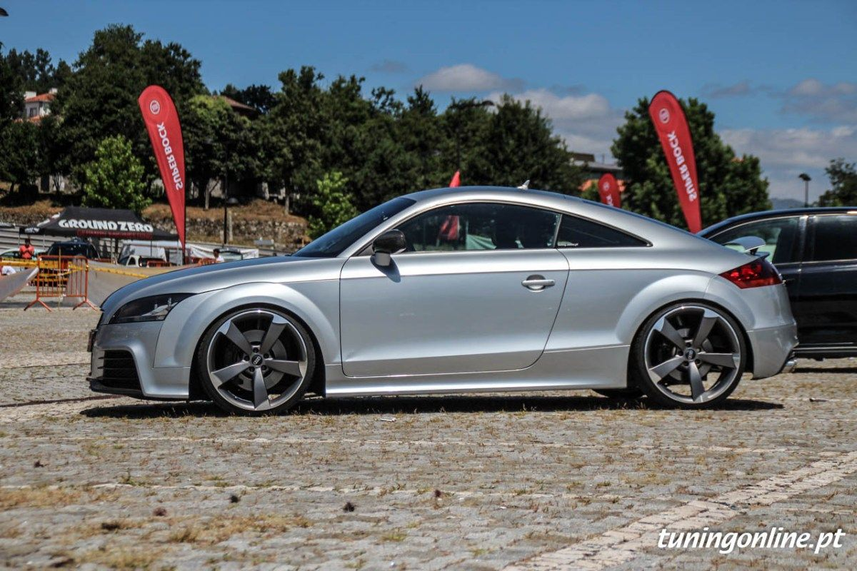 Rui S Mkii Audi Tt On 20 Rotor Wheels
