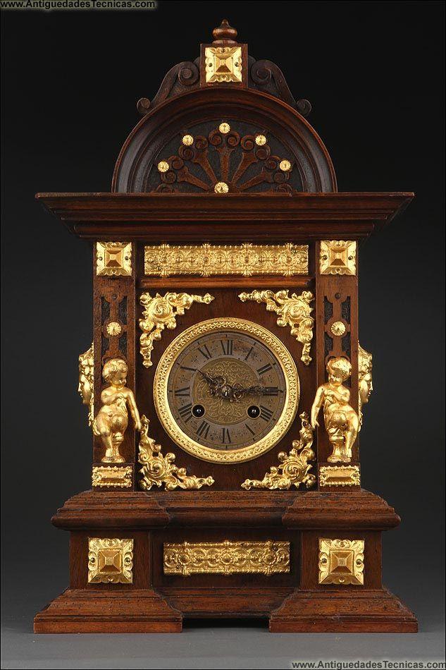Reloj de sobremesa antiguo relojes antiguos joyas de - Relojes antiguos de mesa ...