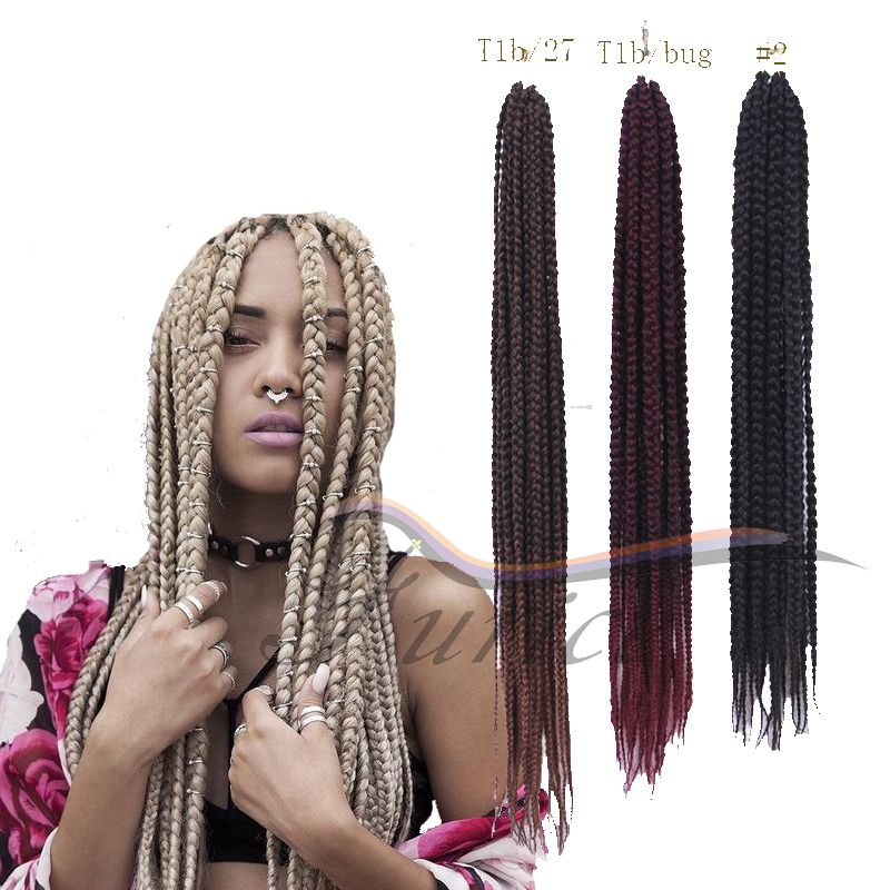 18 inch 24 inch box braids hair afro kinky braiding hair synthetic 18 inch 24 inch box braids hair afro kinky braiding hair synthetic hair extensions crochet twist pmusecretfo Images