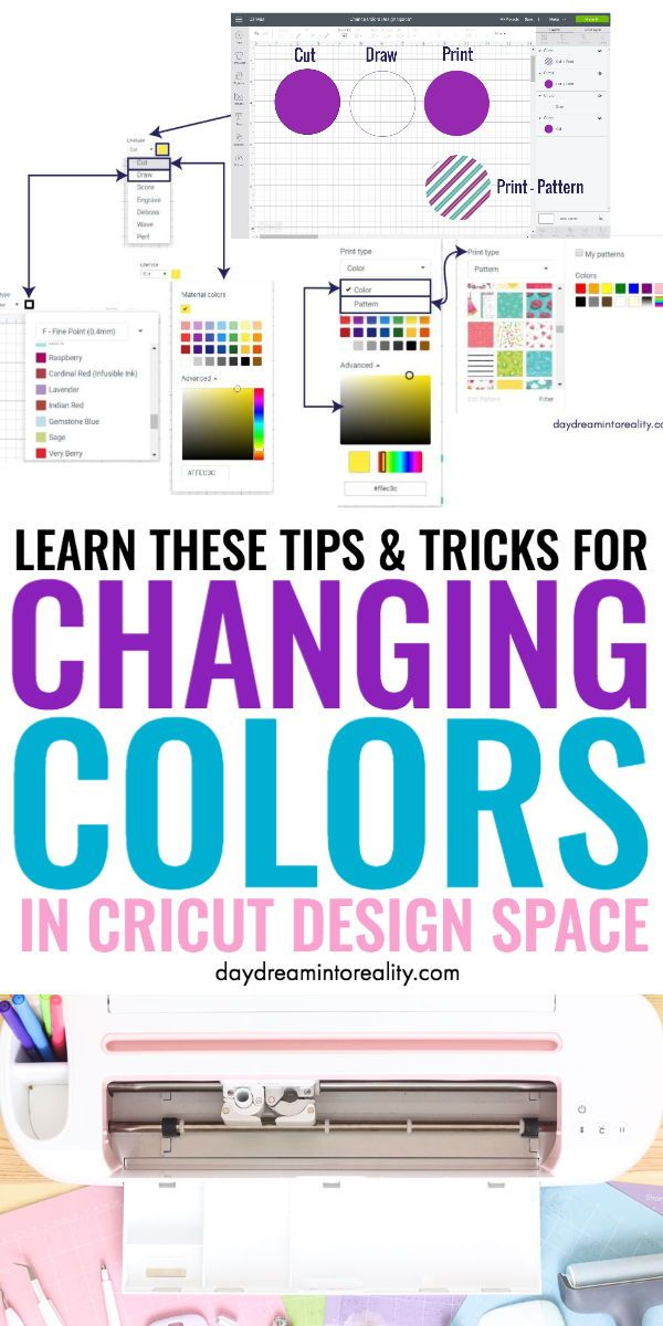 Complete Guide on How to Use and Change Colors in Cricut Design Space
