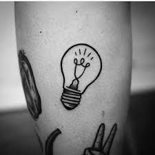 Glühbirnen Tattoo 52,  #Glühbirnen #Tattoo