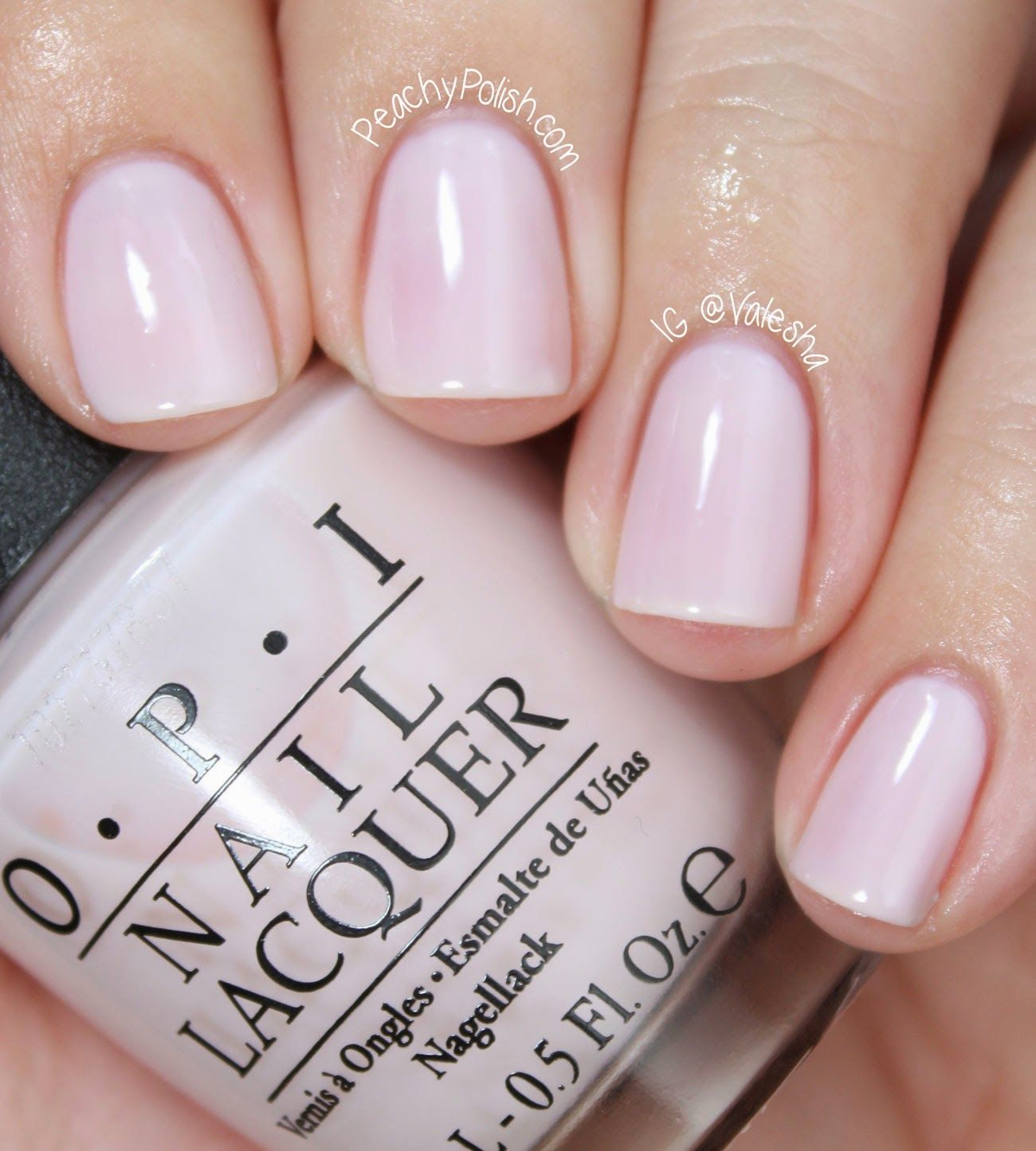 Flutter By: The Best Wedding Nail Polishes from Essie and OPI | MAKE ...