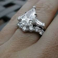 Image result for pear shaped designer wedding rings Jewelry