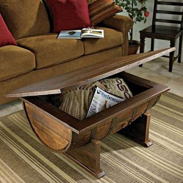Handmade Coffee Tables Lift Top Storage
