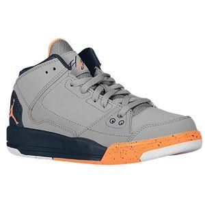 Shop flight origin boys preschool cement grey armory navy white bright  citrus shoes from Jordan in our fashion directory.