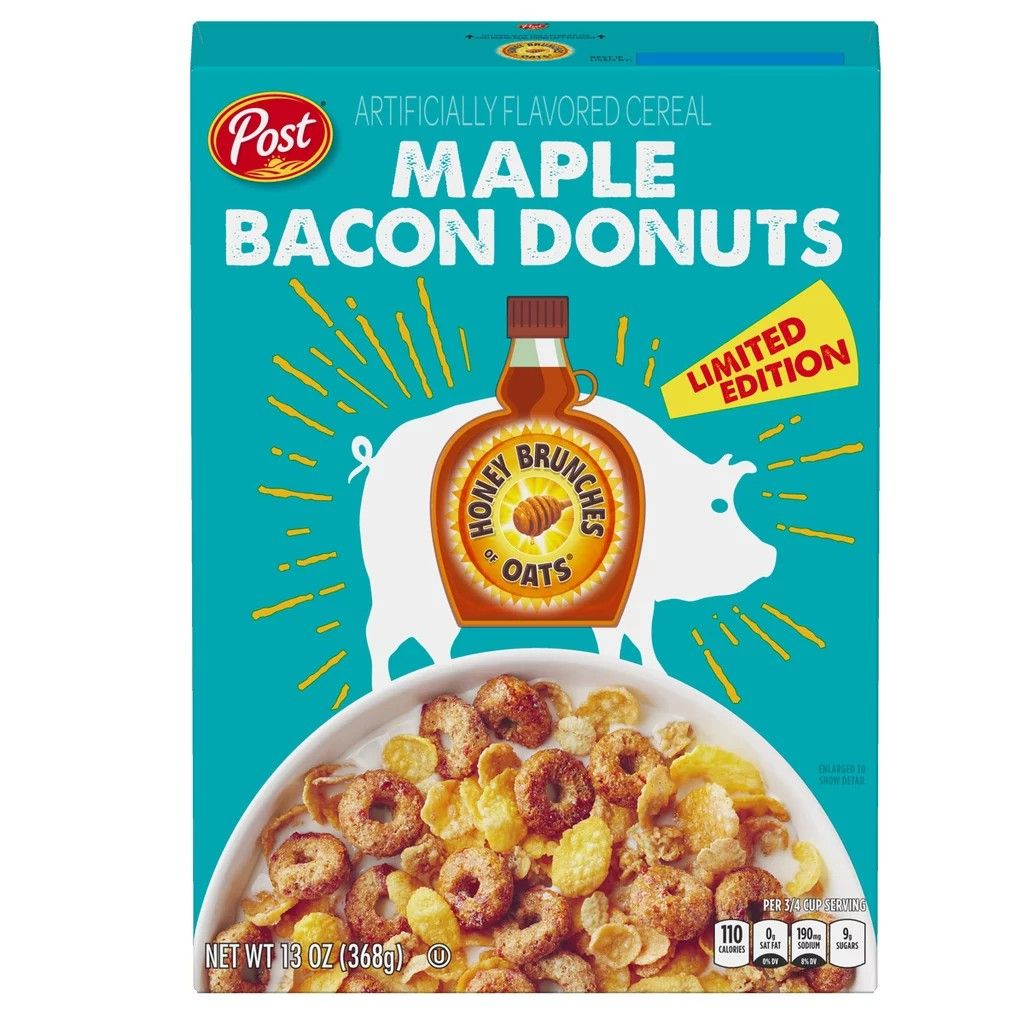 Maple Bacon Donuts Honey Bunches Of Oats In 2019 Chicken